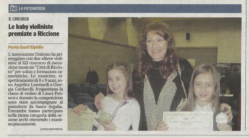 Corriere Adriatico del 19 marzo 2014 (pagina di Fermo e Provincia)