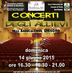 Concerti degli allievi dell'Associazione Unìsono