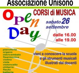 Locandina Open Day