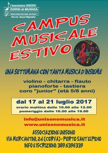 Poster Campus Musical